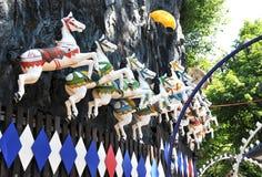Parque de diversões de Tivoli Fotos de Stock