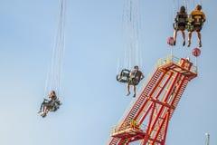 Parque de diversões em Viena imagem de stock