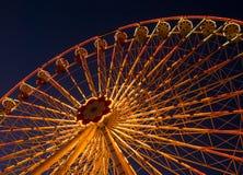 Parque de diversões Prater em Viena fotos de stock