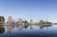 Parque de diversões Sarkanniemi Fotos de Stock