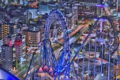 Parque de diversões #2 do Tóquio Foto de Stock