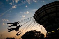 Parque de divertimentos Imagem de Stock