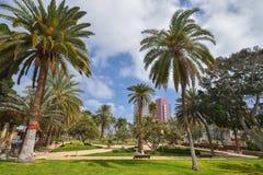 Parque de Doramas em Las Palmas de Gran Canaria, Espanha foto de stock royalty free