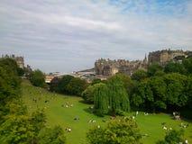 Parque de Edimburgo Foto de archivo
