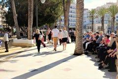 Parque de Elche, Benidorm, Spagna fotografia stock libera da diritti
