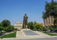 Parque de Ereván Garegin Nzhdek imagenes de archivo
