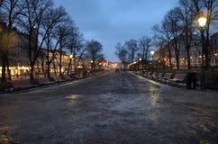 Parque de Esplanadi Fotografía de archivo libre de regalías