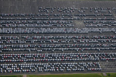 Parque de estacionamento fotos de stock royalty free