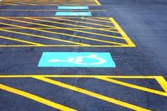 parque de estacionamento Fotografia de Stock Royalty Free