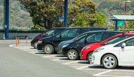Parque de estacionamento Imagem de Stock
