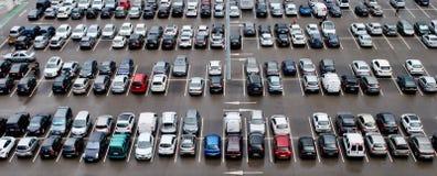 Parque de estacionamento Fotos de Stock