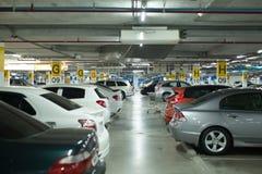 Parque de estacionamento Imagem de Stock Royalty Free