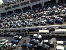 Parque de estacionamento Fotografia de Stock