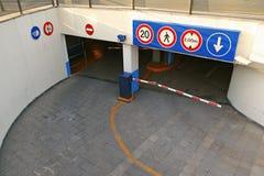 Parque de estacionamento Foto de Stock Royalty Free