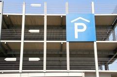 Parque de estacionamento do detalhe Imagem de Stock Royalty Free
