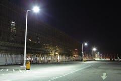 Parque de estacionamento em exterior Imagem de Stock