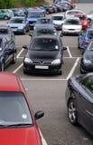 Parque de estacionamento público Fotografia de Stock Royalty Free