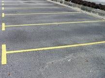 Parque de estacionamento vazio Fotografia de Stock