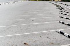 Parque de estacionamento vazio Foto de Stock Royalty Free