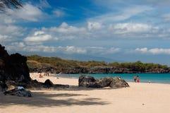 Parque de estado da praia de Hapuna Imagem de Stock Royalty Free