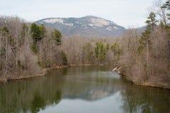 Parque de estado da rocha da tabela, SC Fotos de Stock Royalty Free