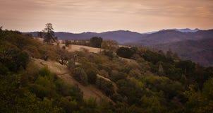 Parque de estado de Henry W Coe cerca de Morgan Hill CA Foto de archivo
