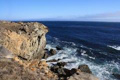 Parque de estado de la punta de la sal California Imagen de archivo libre de regalías