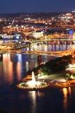 Parque de estado de la punta fountian Imagenes de archivo