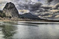 Parque de estado de la roca del faro Imagen de archivo