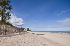 Parque de estado de las dunas de Indiana en septiembre Fotografía de archivo libre de regalías
