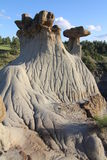 Parque de estado de Makoshika, Montana Imagen de archivo libre de regalías