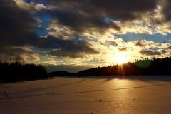 Parque de estado de Roche del Au del punto Imagen de archivo libre de regalías