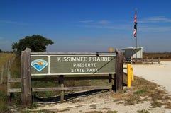 Parque de estado del coto de la pradera de Kissimmee Imagen de archivo libre de regalías
