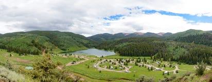 Parque de estado del lago Sylvan Colorado Fotografía de archivo
