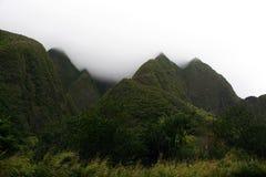 Parque de estado del valle de Iao Fotografía de archivo libre de regalías