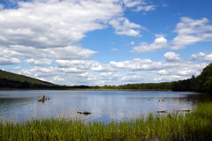 Parque de estado do lago locust fotografia de stock