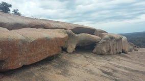 Parque de estado encantado de la roca foto de archivo libre de regalías
