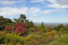 Parque de estado grande de Pocono en Pennsylvania imagen de archivo libre de regalías
