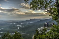 Parque de estado de la cabeza del ` s de César, Greenville, Carolina del Sur Foto de archivo