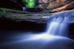 Parque de estado morrido de fome da rocha - Illinois imagem de stock royalty free