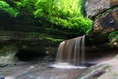 Parque de estado morrido de fome da rocha - Illinois Imagens de Stock