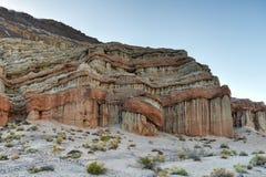 Parque de estado rojo del barranco de la roca, California Foto de archivo libre de regalías