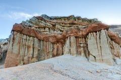 Parque de estado rojo del barranco de la roca, California Fotografía de archivo