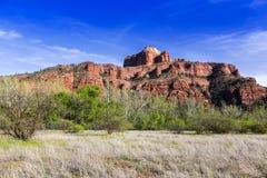 Parque de estado rojo de la roca Sedona Imágenes de archivo libres de regalías
