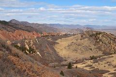 Parque de estado de Roxborough, Colorado Imagen de archivo libre de regalías