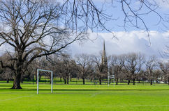 Parque de Fawkner, Yarra sul, Melbourne Fotos de Stock Royalty Free