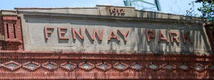 Parque de Fenway, Boston, miliampère fotos de stock