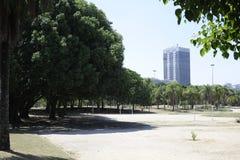 Parque de Flamengo em Rio de janeiro fotografia de stock