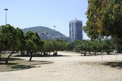 Parque de Flamengo em Rio de janeiro foto de stock