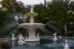 Parque de Forsyth - sabana, Georgia Imágenes de archivo libres de regalías